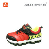 Fashion Hot Sales Sports Casual Kids Boys Girls Shoes with Spring Washer