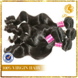 Xuchang 6A Grade New Arrival 100% Peruvian Virgin Remy Human Hair Loose Wave Weft Hair Extension