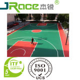 Professional Antislip Colorful Outdoor Basketball Sports Flooring Mat