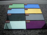 Colored Silver/Aluminum Bath Furniture Mirror
