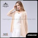 Oversized Hollow White Crochet Top