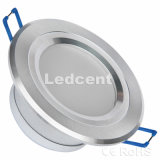 Down Light (3W 2.5 inch recessed downlight, Dimmable, 330lm, CE. RoHS, FCC)