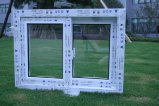 ISO9001 Certified Lead Free UPVC Frame Windows