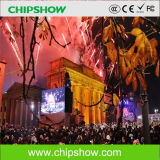Chipshow P16 DIP Full Color Outdoor LED Signage Installation