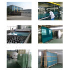 4.38-20.38mm Milky White PVB Laminated Glass