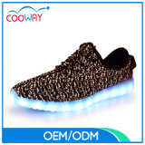 2017 Wholesale LED Flyknit Yeezy Sports LED Shoes for Men