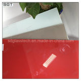5mm 6mm Starphire Toughened/ Ultra Clear Tempered Glass with Lacquered