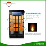 Waterproof Solar Flickering Flames Light Wall Lights Outdoor Dark Sensor Auto on/off Solar Powered Wall Mounted Night Light