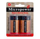 Micropower Zinc Carbon Battery D/R20