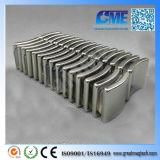 N50 Od28.575xid25.4X19.05mm Motor Neodymium Permanent Arc Magnet