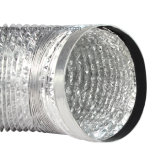 Flexible Aluminum Foil Duct with Coupler