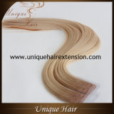 Wholesale European Virgin Double Drawn Seamless Tape in Extensions
