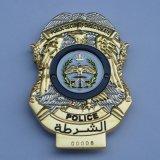 Police Badge Made of Metal (AS-Police Badge-LU-007)