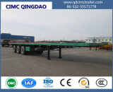 40FT 3 Axles Container/Utility/Cargo Flatbed/Platform Truck Semi Truck