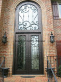 Hand-Crafted Luxury Wrought Iron Front Doors
