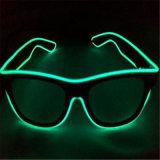 Sound Control LED EL Sunglasses