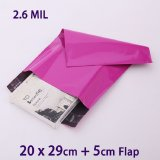 New Material Document Packing Colorful Mailer Courier Bag
