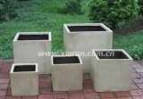 Lightweight Cube Flower Pot, Garden Planter (YF-2013003)