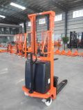 Material Handling Tool 1.0t Light-Type Mini Reach Semi Electric Stacker