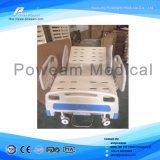 ICU Room Patient Care Hydraulic 3 Crank Manual Hospital Bed
