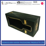 Custom Rigid Cardboard Single Pack Wine Gift Box