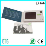 2.4/2.8 Inch Mini Video Name Card for Promotion