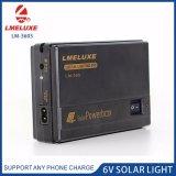Solar Power Box Whit 6V LED Bulb Output