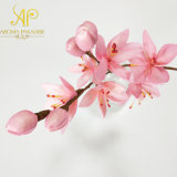 Handmade 28cm H Sakura Branches Bouquet Reed Diffuser Sola Flowers