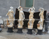 Four Season God Marble Sculpture