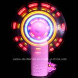 Custom LED Flashing Light Handle Fan with Logo Print (3509A)