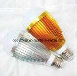 3W 5W 7W 9W High Quality E27 AC85-265V Aluminum LED Bulb Light with 2 Years Warranty