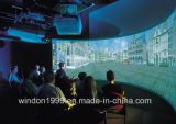 180 Degree Curved Projection Screens for Simulator System