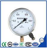 diffential teletransmission manometer pressure gauge with brass