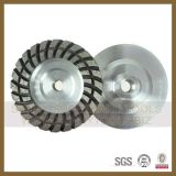 Diamond Weld Turbo Cup Wheel for Grinding Stone