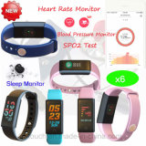 Fashionable Colorful Waterproof Smart Bracelet with Multi-Feactures X6