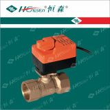 Motorized Ball Valve Dqf-B-24V-Cap / Brass Ball Valve / HVAC Controls Products