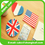 Householder Custom Banner Silicone Rubber Wine Glass Cup Coaster Pads