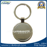 Custom Round Shaped Blank Metal Key Holder