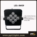 Battery Wireless LED Flat PAR Light