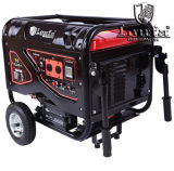 6000W Silent Gasoline Generator with Wheels & Handles