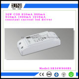 No Flicker 36W 900mA High Power Factor, LED Power Supply, LED Transformer, Constant Current LED Driver