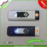Promotional Rechargeable Plastic USB Lighter with Logo Print Service