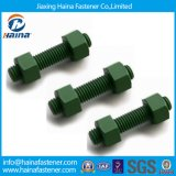 A193 B7/A320 L7 Teflon Threaded Rods with 2h Hex Nut