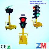 Automatic Luminance Solar Portable / Movable Traffic Light