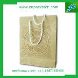 Luxury Branded Cardboard Bag with Rope Handle