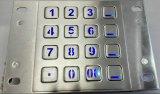 Waterproof 16 Keys Backlit Metal Keyboard (KMY3502B-BL)
