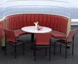 Fashionable Half Round Restaurant Sofa
