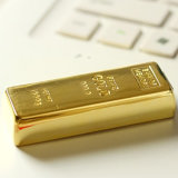 High Quality Golden USB2.0 Flash Disk 128MB to 64GB