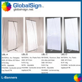 Different Model Type L Banner Stands for Your Choice