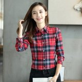 New Fashion Casual Plus Size Women Blouses Long Sleeve Shirts Woman Blouse Tops